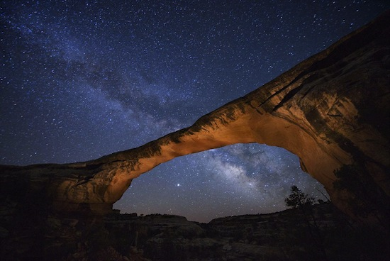 Natural Bridges National Monument, Utah, 2008. © Jim Richardson/National Geographic Stock.