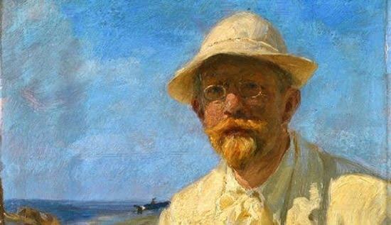 Peder Severin Krøyer, Selbstportrait des Künstler, 1897, Sammlung Hirschsprung, Kopenhagen