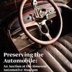 Simeone Automotive Museum Hosts Preserving the Automobile auction