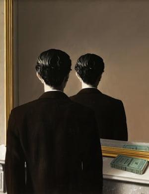 René Magritte (Belgium, 1898-1967). La reproduction interdite (Not to be Reproduced). 1937. Oil on canvas. 31 7/8 x 25 9/16 in. (81 x 65 cm). Museum Boijmans van Beuningen, Rotterdam. © Charly Herscovici -– ADAGP – ARS, 2013. Photograph: Studio Tromp, Rotterdam.