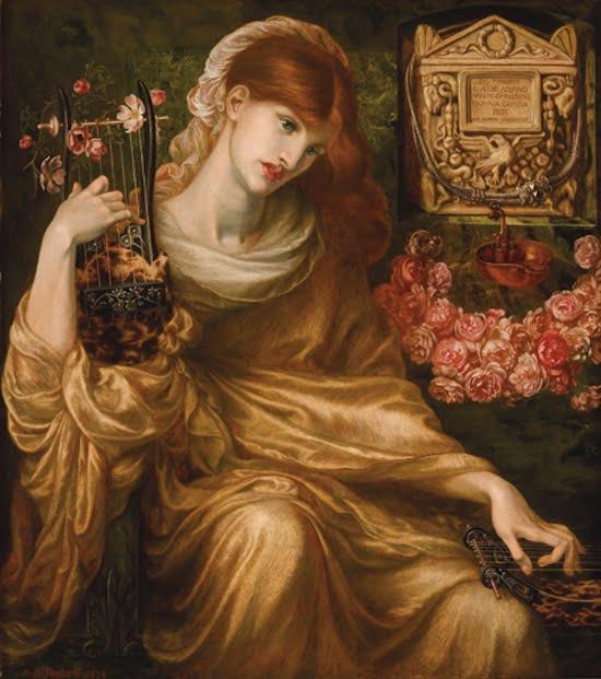 Dante Gabriel Rossetti Roman Widow (Dîs Manibus) 1874 oil on canvas, 41 1/4 x 36 3/4 in. (104.8 x 93.3 cm)