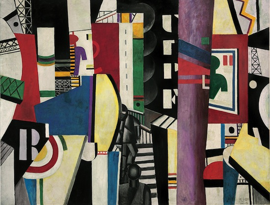 Fernand Léger, The City, 1919. Oil on canvas, 7 feet 7 inches x 9 feet 9 1/2 inches (231.1 x 298.4 cm), Philadelphia Museum of Art, A. E. Gallatin Collection, 1952, © Artists Rights Society (ARS), New York / ADAGP, Paris