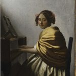 Philadelphia Museum of Art  shows Vermeer's Young Woman Seated at a Virginal