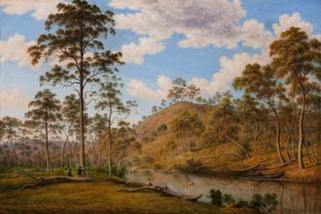 Art Gallery of South Australia gifted John Glover painting