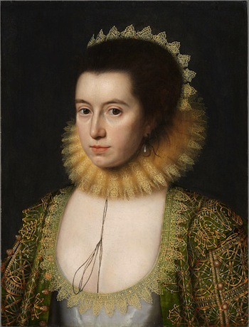 Lady Anne Clifford by William Larkin, 1618 © National Portrait Gallery, London.