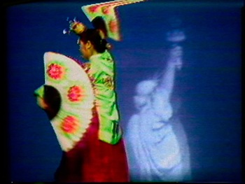 Nam June Paik, Global Groove (still), 1973. Video. Collection of Musée cantonal des Beaux-Arts de Lausanne, acquired 2013. Courtesy Studio Nam June Paik and Electronic Arts Intermix, New York.