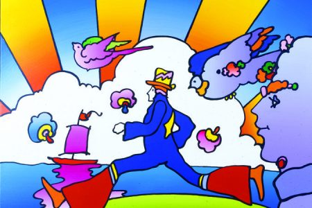 Nassau County Museum of Art Offers First In-Depth Look at Peter Max's Original Drawings, Oct. 25-Feb. 23