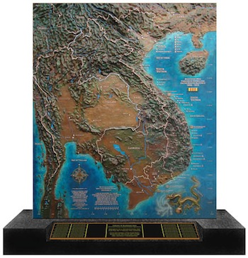 Photo of Southeast Asia Memorial Bronze. The Museum of Flight, Seattle.