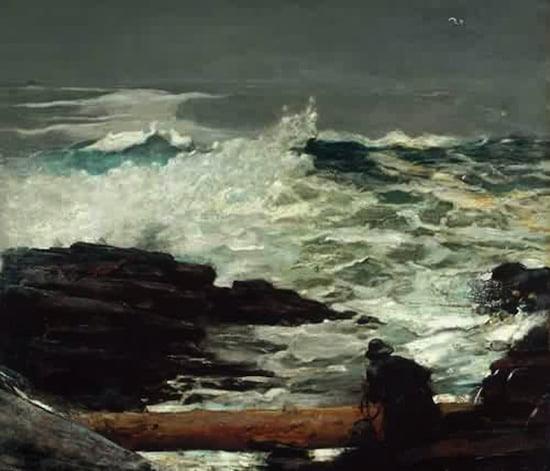 Winslow Homer, Driftwood, 1909.