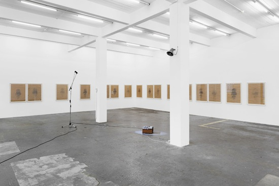 Dani Gal, Do you suppose he didn't know what he was doing, or knew what he was doing and didn't want anyone to know?, 2013. Exhibition view, Kunst Halle Sankt Gallen. Photo: Kunst Halle Sankt Gallen, Gunnar Meier.
