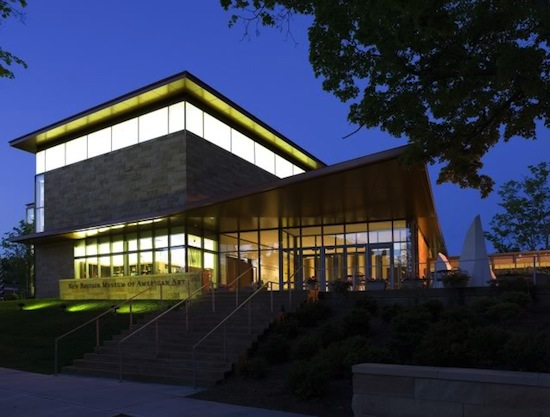 New Britain Museum of American Art. Chase Family Building. Photo by Vanderwarker.