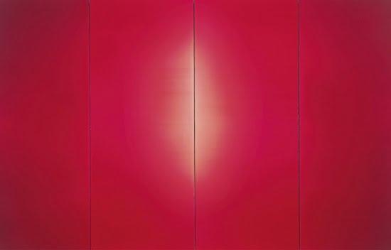 Prudencio Irazabal, Untitled #767 (Sin título #767), 1996. Acrylic on fabric on wooden panels, 211 x 346 cm. Courtesy Guggenheim Bilbao.