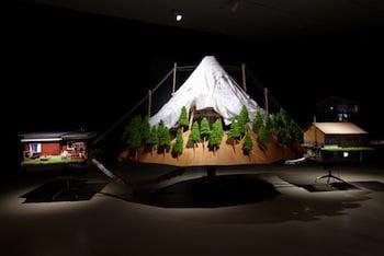 Graeme Patterson, The Mountain 2013. Mixed media installation. Photo: