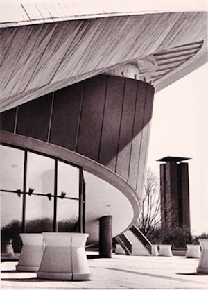 Haus der Kulturen der Welt building. Photographer and year unknown. ©HKW.