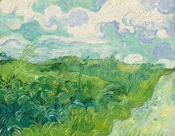National Gallery of Art acquires Van Gogh's Green Wheat Fields Auvers