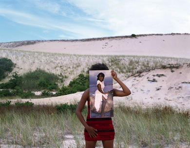 Xaviera Simmons, Horse, 2009. Color photograph, 38 3/4 x 49 3/4. Courtesy of the artist and David