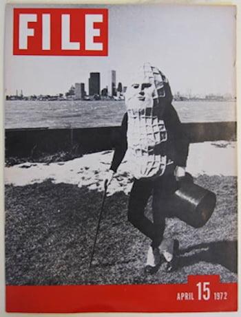 "General Idea (with Image Bank), FILE Megazine, ""Mr. Peanut Issue,"" Vol. 1, No. 1, 15 April 1972. Courtesy of Art Metropole, Toronto."