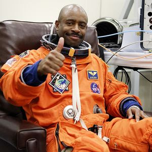 NASA space shuttle astronaut Leland Melvin. NASA photo.