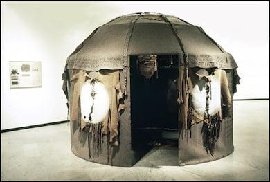 Ni̇l Yalter, Nomad's Tent, 1973. Courtesy of Istanbul Bilgi University.