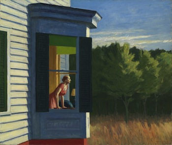 Edward Hopper, Cape Cod Morning, 1950, oil Smithsonian American Art Museum, Gift of the Sara Roby Foundation