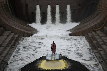 Matthew Barney and Jonathan Bepler, River of Fundament, 2014. Production still. Photo: Hugo Glendinning. © Matthew Barney. Courtesy Gladstone Gallery, New York and Brussels.