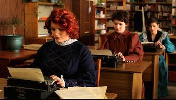 Pavel Braila, A Tribute to the Typewriter: The Ink Ribbon's Fingerprints (still), 2012. Film.