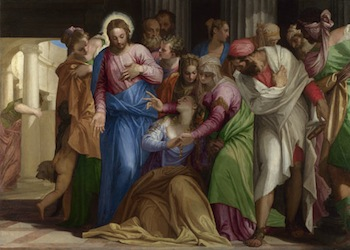 Paolo Veronese The Conversion of Mary Magdalene about 1548,
