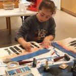Art Adventures: Printmaking Six-Week Art Program for Children