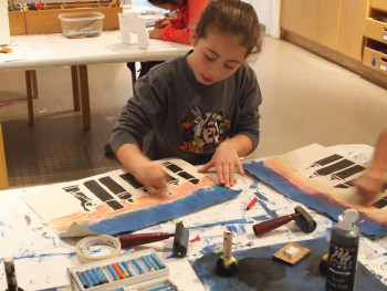 Children ages 6-12 can find out what it takes to become a printmaker at Art Adventures, a 6-session art workshop at the Katonah Museum of Art.