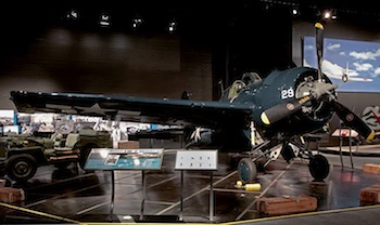 General Motors FM-2 Wildcat on display at The Museum of Flight. Ted Huetter/The Museum of Flight, Seattle.