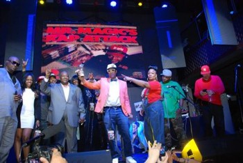 Mr. Magic is Inducted by His Juice Crew Team of Marley Marl, Roxanne Shante, FlyTy Williams, Lux, Kevi Kev, Debbie Dee, DJ Polo, and Glamorous