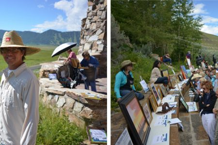 Jackson Hole Plein Air Fest Grows to More than 50 Artists