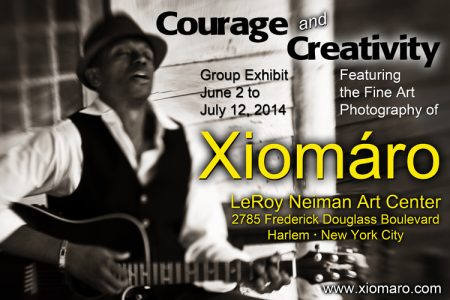 "Harlem's ""Courage and Creativity"" Exhibit Features Photographs From Xiomáro"