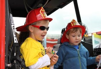 Family Fun with Fire Departments