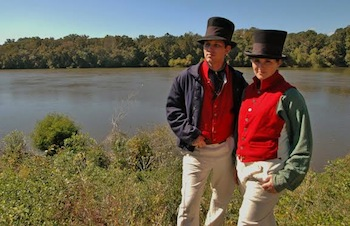 On Friday, July 11, the Chesapeake Bay Maritime Museum (CBMM) in St. Michaels, MD welcomes historians Matthew and Juliann Krogh, shown here, to present two living history programs exploring the highlights and challenges sailors faced during the War of 1812.