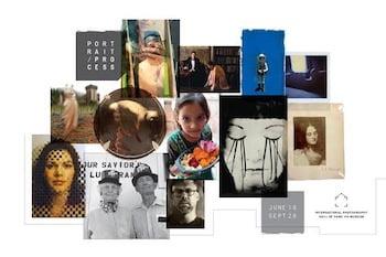 Portrait Process exhibition