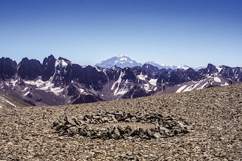 Richard Long, Aconcagua Circle, 2012. Courtesy of Richard Long. © Richard Long.