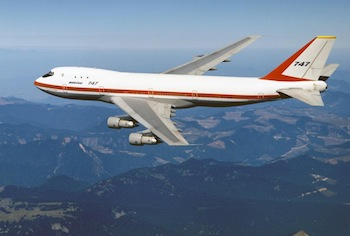 Historic 747 Prototype Getting Makeover