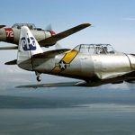 Military Aircraft Fly to Museum for display July 19