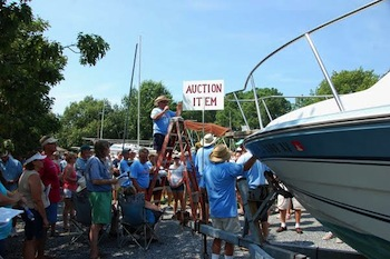 Charity Boat Auction