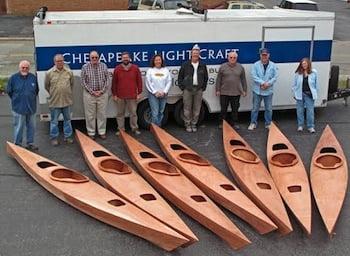 Build a Chesapeake Light Craft kayak at CBMM Sept. 29 – Oct. 4