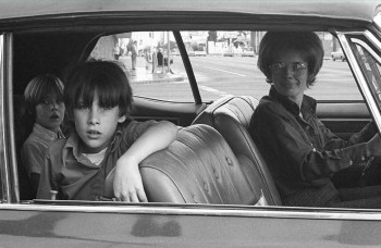 Mike Mandel, People in Cars, North Hollywood, 1970