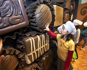 Chocolate: The Exhibition reveals facets of the treat that you never thought about before.