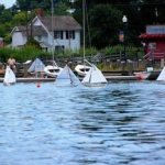 Model skipjack races at CBMM September 21