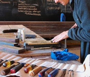 Tool-sharpening workshop for the woodworker December 9