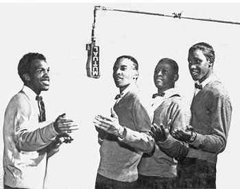 1957 Asbury Park R&B vocal group, the Vibes, featuring Bobby Thomas & Lenny Welch