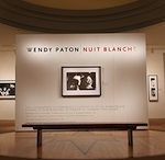 Michener Art Museum Extends WENDY PATON | NUIT BLANCHE Exhibition