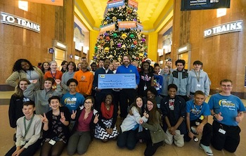 Best Buy kicks off the season of giving with grant to support Cincinnati Museum Center Youth Programs