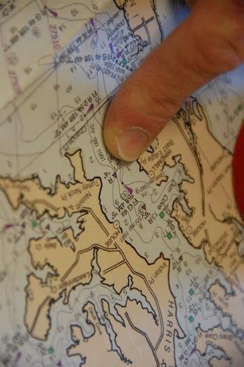 chart navigation