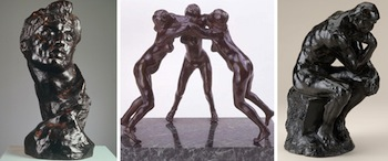 Iconic Artist Auguste Rodin Comes to the James A. Michener  Art Museum